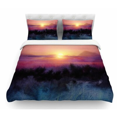 Calling the Sun IV by Viviana Gonzalez Featherweight Duvet Cover Size: Twin
