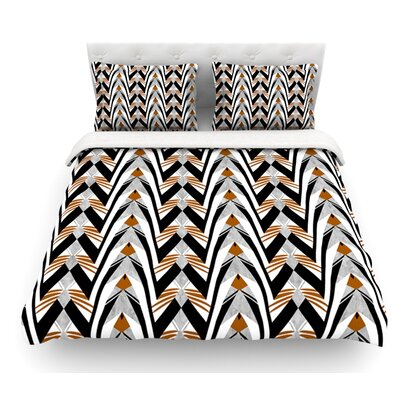 Wings by Vikki Salmela Featherweight Duvet Cover Size: Queen