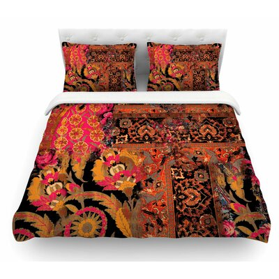 Global Patchwork by Victoria Krupp Digital Featherweight Duvet Cover Size: King