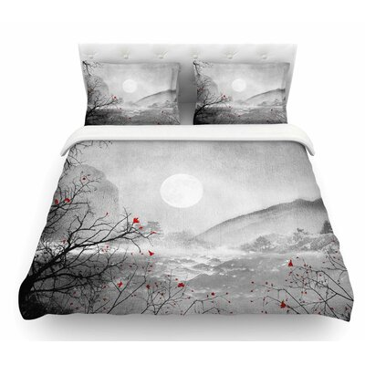 The Sounds and Poems, Chap by Viviana Gonzalez Featherweight Duvet Cover Size: Queen