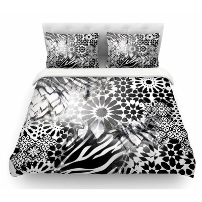 Out of Morocco by Victoria Krupp Abstract Featherweight Duvet Cover Size: Twin