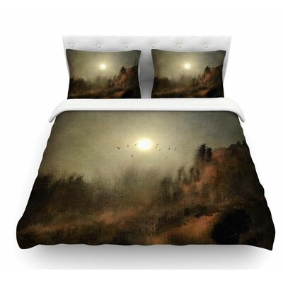 Calling the Sun by Viviana Gonzalez Featherweight Duvet Cover Size: Queen