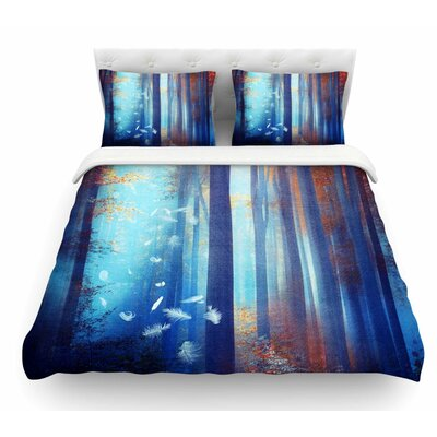 Dreams by Viviana Gonzalez Trees Featherweight Duvet Cover Size: Twin