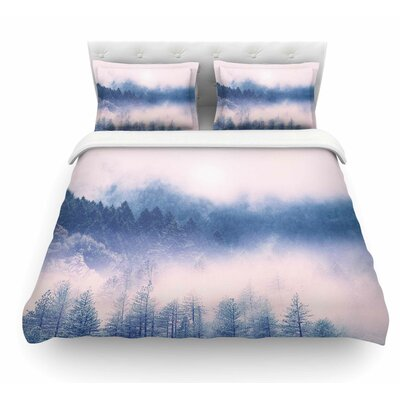 Pastel Vibes 03 by Viviana Gonzalez Featherweight Duvet Cover Size: King