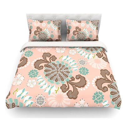 Sea Carnival by Very Sarie Featherweight Duvet Cover Size: Twin