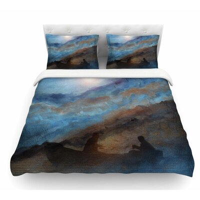 Calling the Sun VI by Viviana Gonzalez Featherweight Duvet Cover Size: Twin