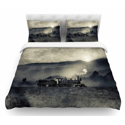 Chapter II by Viviana Gonzalez Featherweight Duvet Cover Size: Twin
