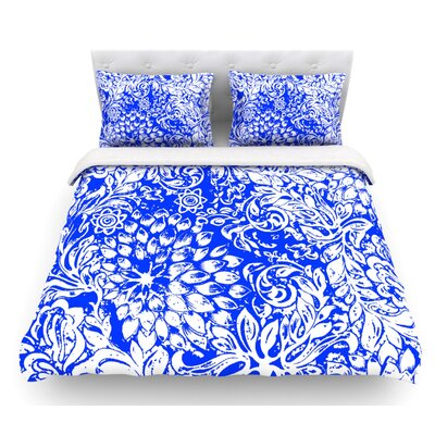 Bloom for You by Vikki Salmela Featherweight Duvet Cover Size: Queen