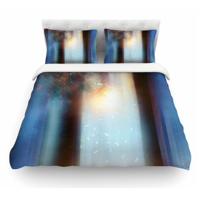 Hope in Part II by Viviana Gonzalez Featherweight Duvet Cover Size: King