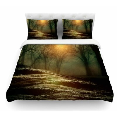 From Small Beginnings and Big by Viviana Gonzalez Nature Featherweight Duvet Cover Size: Twin