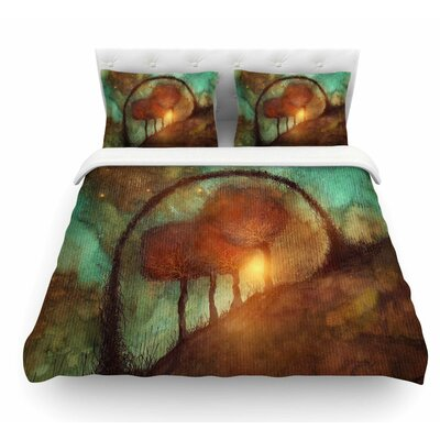 Track 28: Sunset And Dreams Ii Featherweight Duvet Cover Size: King