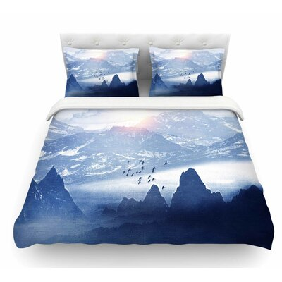 Winter, Melody by Viviana Gonzalez Nature Featherweight Duvet Cover Size: Twin