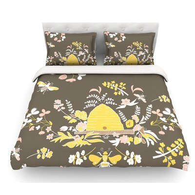 Hope for the Flowers II by Very Sarie Featherweight Duvet Cover Size: Queen