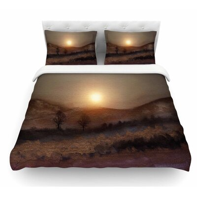 Calling the Sun V by Viviana Gonzalez Featherweight Duvet Cover Size: King