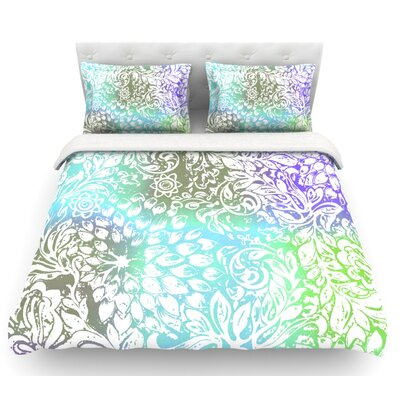 Bloom Softly for You by Vikki Salmela Featherweight Duvet Cover Size: Twin