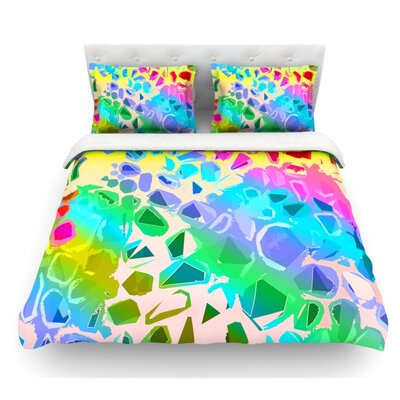 Jungle Talk by Vikki Salmela Featherweight Duvet Cover Size: Twin