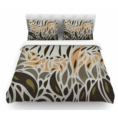 Africa Abstract Pattern II by Viviana Gonzalez Featherweight Duvet Cover Size: Twin