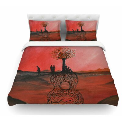 Art Name by Viviana Gonzalez Featherweight Duvet Cover Size: Twin