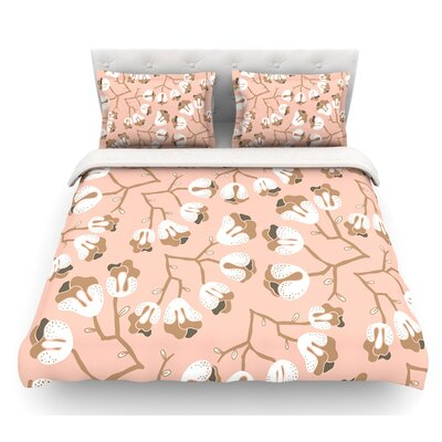 Hope for the Flowers III by Very Sarie Featherweight Duvet Cover Size: Queen