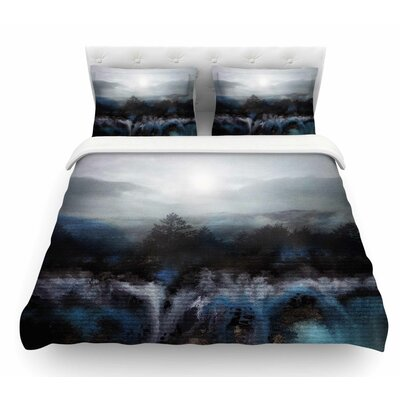Calling the Sun III by Viviana Gonzalez Featherweight Duvet Cover Size: Queen