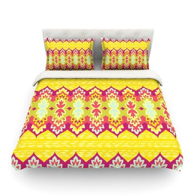 Bohemia by Amanda Lane Featherweight Duvet Cover Size: Queen