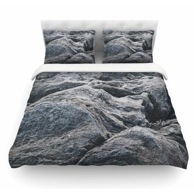 Stone Landscape by Will Wild Nature Featherweight Duvet Cover Size: Twin