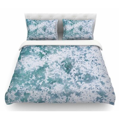 Frost by Will Wild Nature Featherweight Duvet Cover Size: King