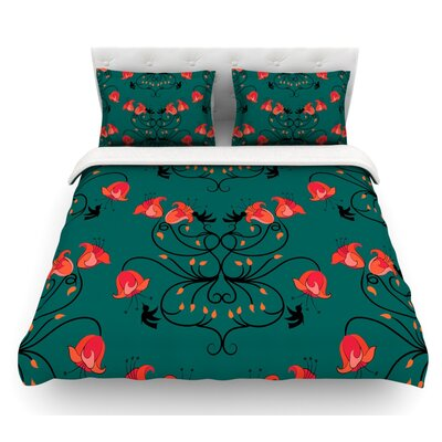 Hummingbird by Yenty Jap Featherweight Duvet Cover Size: Twin