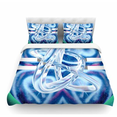 New Era by Infinite Spray Art Featherweight Duvet Cover Size: Twin