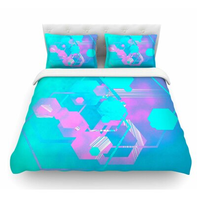 Emersion by Infinite Spray Art Featherweight Duvet Cover Size: King