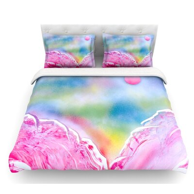 Hideaway by Infinite Spray Art Featherweight Duvet Cover Size: Queen