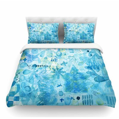 Floating by Nic Squirrell Featherweight Duvet Cover Size: Twin