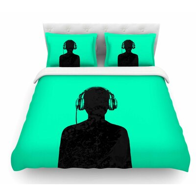 Music by BarmalisiRTB Featherweight Duvet Cover Size: Twin