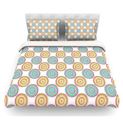 Bombay Dreams by Apple Kaur Designs Featherweight Duvet Cover Size: Twin