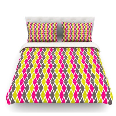 Bohemian by Nandita Singh Featherweight Duvet Cover Size: Queen