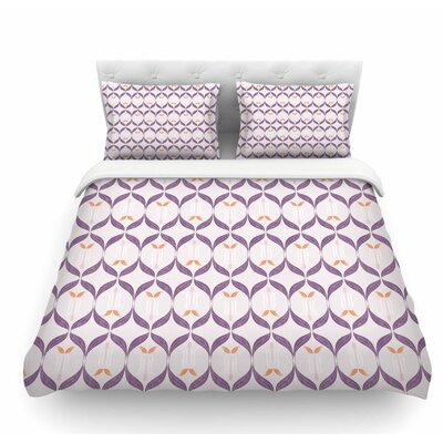Textured Modern Reminicence by Neelam Kaur Featherweight Duvet Cover Size: King