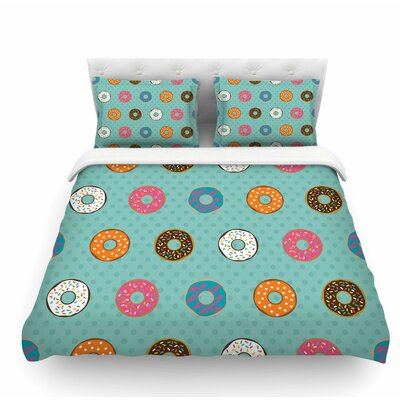 Doughnut Brigade by Juan Paolo Food Featherweight Duvet Cover Size: Twin
