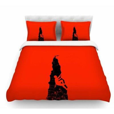 Climbing by BarmalisiRTB Featherweight Duvet Cover Size: Queen