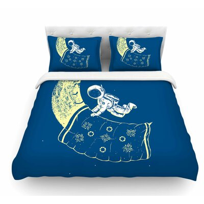 You Need a Break by Barmalisirtb Moon Featherweight Duvet Cover Size: Queen