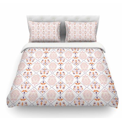 Modern Reminiscence by Neelam Kaur Featherweight Duvet Cover Size: King