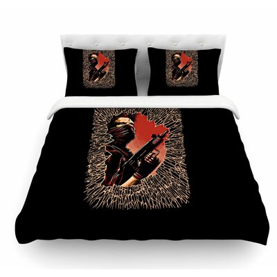 War is Over by Barmalisirtb Featherweight Duvet Cover Size: Twin