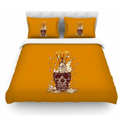 Broken Bulb by BarmalisiRTB Featherweight Duvet Cover Size: Queen