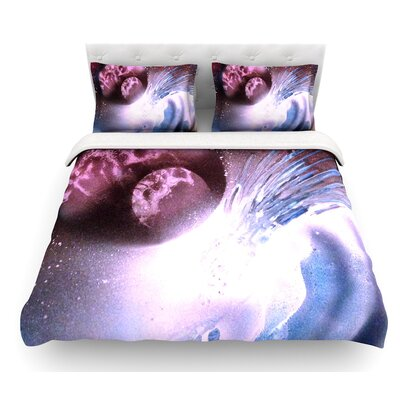 Space Tube by Infinite Spray Art Featherweight Duvet Cover Size: Queen