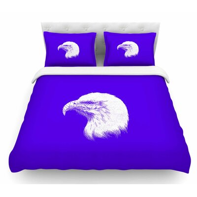 Blind and Silent by BarmalisiRTB Featherweight Duvet Cover Size: Queen