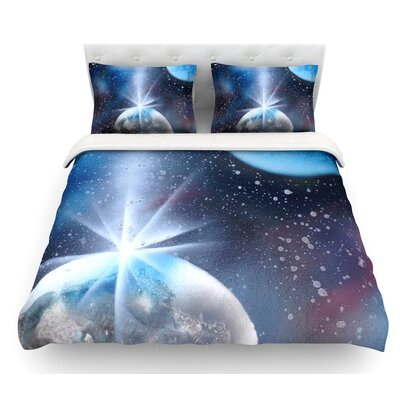Intergalactic by Infinite Spray Art Featherweight Duvet Cover Size: King