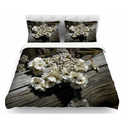 Rustic Flowers by Nick Nareshni Featherweight Duvet Cover Size: Queen