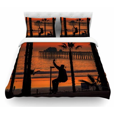 Endless Summer by Juan Paolo Featherweight Duvet Cover Size: Twin