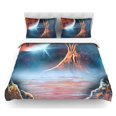 Embark by Infinite Spray Art Nature Featherweight Duvet Cover Size: Queen