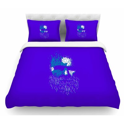 Broken Pieces by BarmalisiRTB Featherweight Duvet Cover Size: Queen
