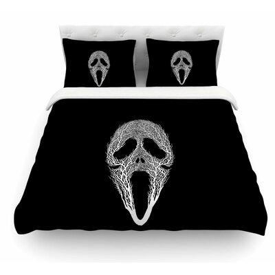 The Scream Tree by BarmalisiRTB Featherweight Duvet Cover Size: Queen